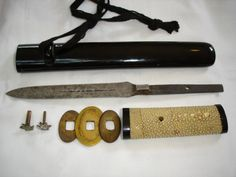 Yari tanto - example of a knife can be configured as a spear, or some needed a knife and had an extra spear?