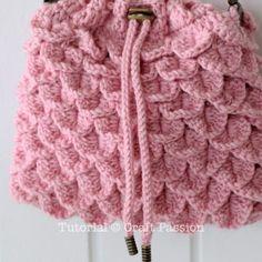 crochet cord pattern and purse,  free