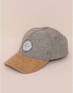 Pull&Bear - damen - mützen und hüte - baseballmütze - grau meliert - 05831307-V2016