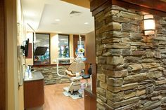 Relax during your next dental visit in one of our 10 treatment rooms! Dental Cabinet, Dental Office Design, Treatment Rooms, Dental Hygiene, Dentistry, Office Ideas, Clinic, Spa, Relax