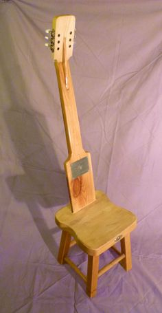 #Guitar, #Seat, #Upcycled