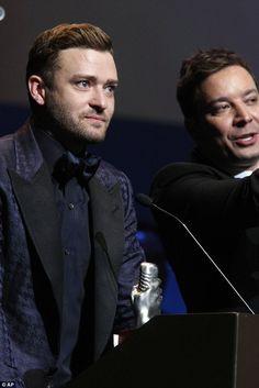 Jimmy Fallon and Justin Timberlake - Memphis Music Hall Of Fame