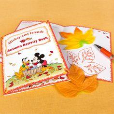Mickey & Friends Autumn Activity Book