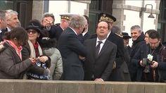 """A Brest, François Hollande a insisté sur le rôle """"essentiel"""" de la culture, """"barrage"""" contre la haine"""