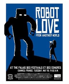 Robot Love movie poster from Cannes