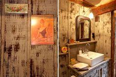 Affiches et boîtes rétro : Accessoires pour une salle de bains déco - Journal des Femmes Décoration