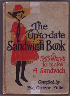 Vintage Sandwich recipe book: Vintage Sandwich recipe book... one of these would make a hilarious wedding gift... purely humorous.