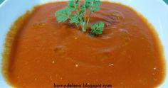 GAZPACHO DE PIQUILLOS. Riquísimo saludable y muy fácil de hacer. Te va a encantar esta receta!! Thai Red Curry, Ethnic Recipes, Food, Homemade Recipe, Easy Recipes, Cooking, Healthy, Homemade, Essen