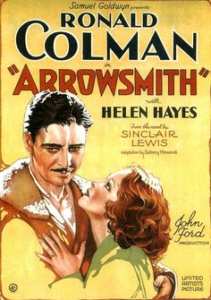 Arrowsmith (1931). Visually interesting early talking picture.