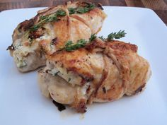 Cheese Please: Bundled Chicken with Goat Cheese and Fresh Thyme