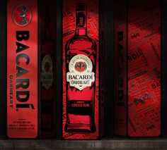 Bacardi limited edition packaging design for china market Limited Edition Packaging, Spiced Rum, Bacardi, Package Design, Philippines, Behance, Packaging Design, Bacardi Cocktail, Design Packaging