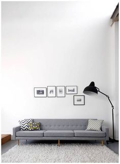 Inspiring work space in a converted warehouse. Beautiful simple art wall display. Looking for one of a kind art photos and poster prints to compliment your industrial decor? Visit bx3foto.etsy.com
