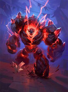 Card Name: Abyssal Enforcer Artist: Luke Mancini ✖