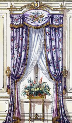 French curtains... Elham Zaid... http://www.pinterest.com/elhamzaid/curtains/