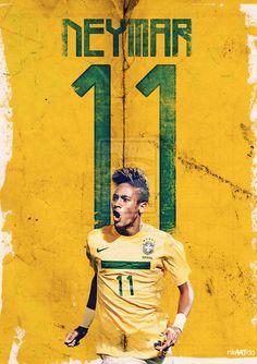 Neymar 11 by riikardo.deviantart.com on @deviantART