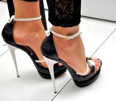 Skinny heels