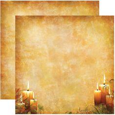 5 Sheets Reminisce Harvest Glow Best of Harvest Autumn Scrapbook Paper