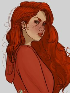 This is the first art I've seen that actually looks like how I pictured Scarlet! So many people think that Scarlet has green eyes, smooth and clear skin, and straight hair. Scarlet, Character Inspiration, Character Art, Lunar Chronicles Books, Marissa Meyer Books, Shadowhunters, Fanart, First Art, Cinder