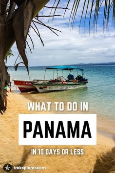 Plan your trip to Panama with this beginner's guide of what to do in Panama and 10-day Panama itinerary.: