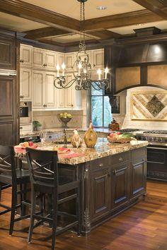 Bon 25 Home Plans With Dream Kitchen Designs