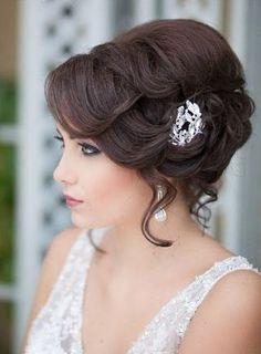 Wedding - Bride Hair - Up Do Style   Angela Tam - Makeup Artist and Hair Team…