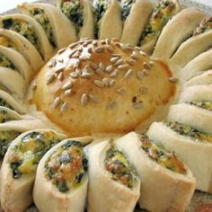 Sunny Spinach Pie - change up the filling recipe and use your family's spanakopita recipe. Yum!!