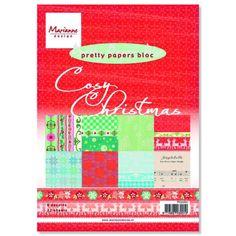 Cosy Christmas, Marianne Design, Craft Shop, Paper Crafts, Stamp, Pretty, A5, Tissue Paper Crafts, Paper Craft Work