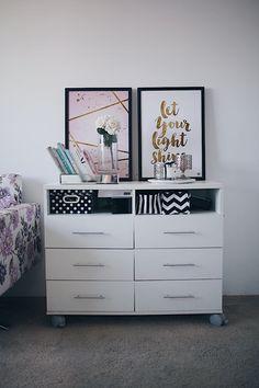 Reforma do closet e os meus novos quadros