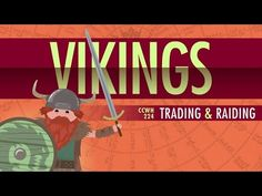 "The Vikings! - Crash Course World History 224 by thecrashcourse: ""In which John Green teaches you about Vikings! That's right, one of our most requested subjects, the Vikings, right here on Crash. Crash Course World History, Ap World History, Mystery Of History, Ancient History, American History, My Father's World, Story Of The World, Vikings, Middle Ages History"