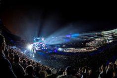 The Grateful Dead perform at Grateful Dead Fare Thee Well Show at Soldier Field on Friday, July 3, 2015, in Chicago, Ill. (Photo by Jay Blakesberg/Invision for the Grateful Dead/AP Images)