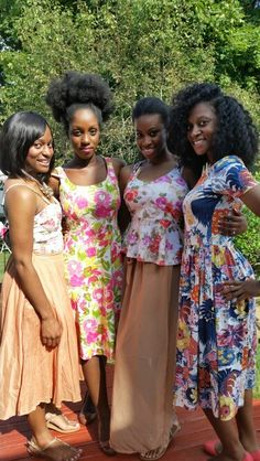 Floral outfits for summer
