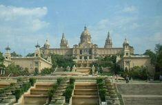 The beautiful Montjuic castle in Barcelona!