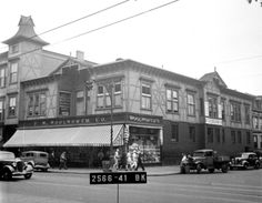 1940 tax photo of Keramos Hall in Greenpoint Brooklyn
