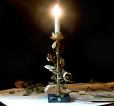 Vintage Italian Florentine Table Lamp / by AloofNewfWhimsy on Etsy