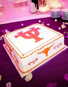 Groom's cake - but TCU