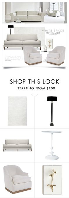 """White Space 2003"" by boxthoughts ❤ liked on Polyvore featuring interior, interiors, interior design, home, home decor, interior decorating, Pier 1 Imports, Eichholtz, Williams-Sonoma and Barbara Cosgrove"