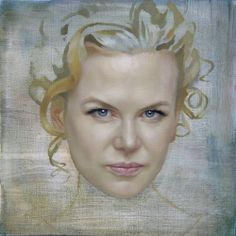 Jonathan Yeo: Portrait study (Nicole) 2007