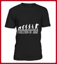 evolution of army Tshirt - Evolution shirts (*Partner-Link)