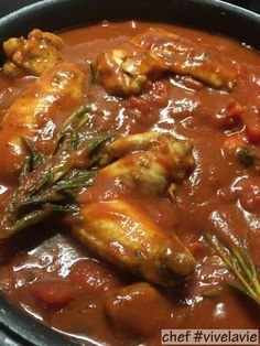Italian stew with chicken Pascal Pluijmaekers - Ideas (i will organize this once school is over) - Heerlijke meal Healthy Slow Cooker, Healthy Crockpot Recipes, Slow Cooker Recipes, Italian Stew, Good Food, Yummy Food, Happy Foods, Pasta, My Favorite Food