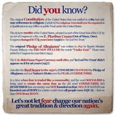 US Constitution & Religion