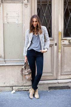 gray street style, gray fashion, gray inspiration (19)