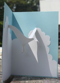 Seagull Popup Card