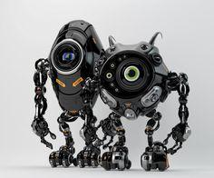 Robotic friends from another planet by Ociacia.deviantart.com on @deviantART