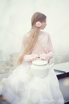 Pastel soft and beautiful.