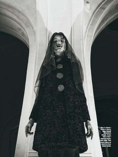 The Amica Bulgaria November 2012 Photoshoot Stars Pirina Dzhupanova #fashion trendhunter.com