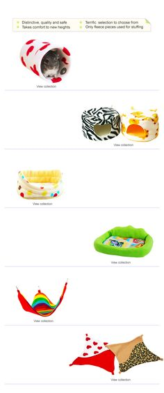 cage accessories for ferrets, guinea pigs, chinchillas, rats, sugar gliders, degus and other small pets