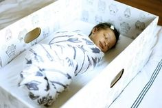 Babies Sleep in Boxes in Finland: Finnish Baby Boxes | Apartment Therapy