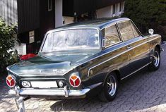 Ford Cortina 1500 GT Green - 1965 from Switzerland Ford Motor Company, Ford Zephyr, British Sports Cars, Ford Classic Cars, Classic Motors, Car Ford, Old Cars, Custom Cars, Cars For Sale