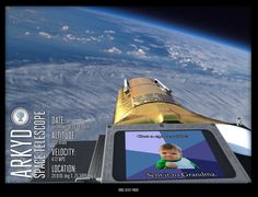 What's better than a baby picture? A baby picture in space! Snag your opportunity for a #spaceselfie (but hurry - these will go fast!) #arkyd