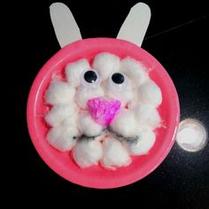 My two year old made this  I helped with glue and placement  He was  Bunny CraftsEaster  CraftsEaster IdeasHoliday  Handprint Sheep Craft  my two year old had a good time gluing and  . Easy Easter Crafts For Two Year Olds. Home Design Ideas